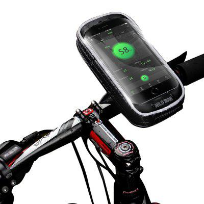WILD MAN H16 Mountain fietstas Mobile Holder Touch Screen Large Space Electric Vehicle Navigation Bracket Fietsen Equipment