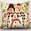 Christmas Decorative Pillow Case Digital Printing Square Pillow Cover Sofa Cushion Cover - MULTI