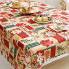 Christmas Party Decoration Fabric Printing Tablecloth