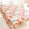 Christmas Party Decoration Fabric Printing Tablecloth - MULTI-A