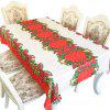 Christmas Party Decoration Fabric Printing Tablecloth - MULTI-D