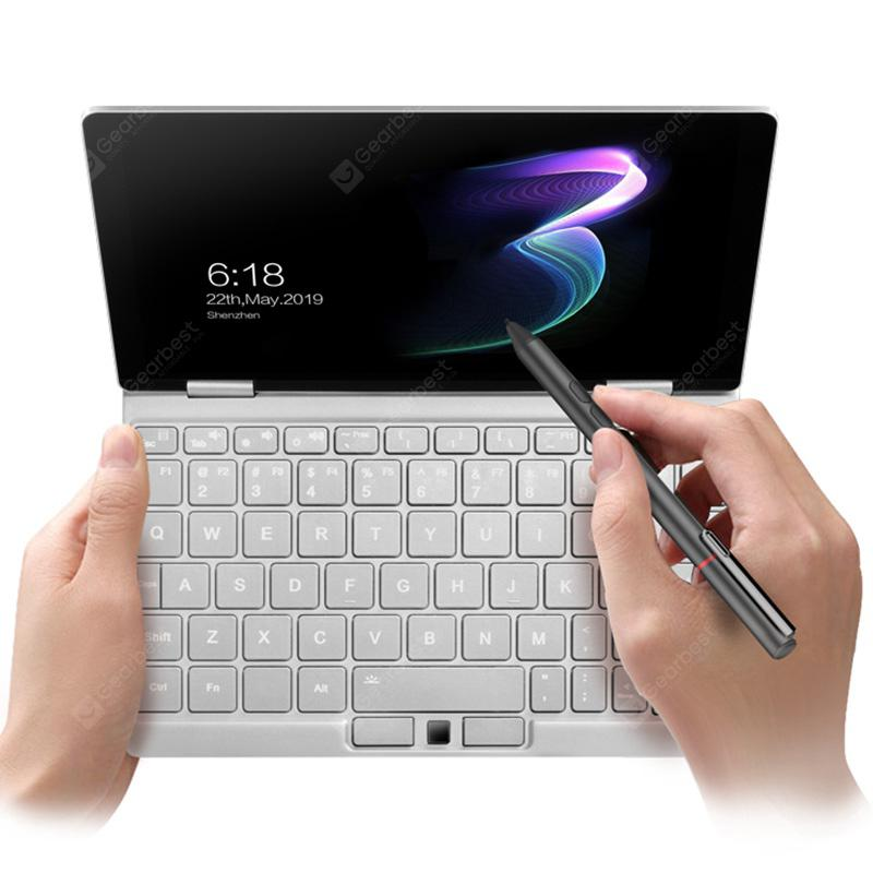 One-NetBook OneMix 3 8.4 inch 2-in-1 Personal Computer Pocket Mini Laptop PC Windows 10 Home OS Intel Core M3-8100Y CPU 8GB DDR3 RAM + 256GB PCIE NVME SSD - Silver EU Plug
