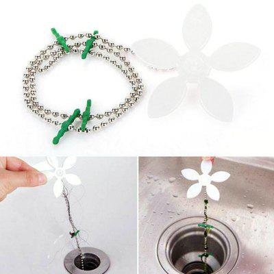 Badkamer Dredge Cleaner Hair Drainer Kleine Bloem Anti-blokkerende Without Water Pipe Styling Device