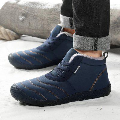 AILADUN Men Warm Winter Outdoor Casual Shoes Durable Footwear Anti-collision Toe