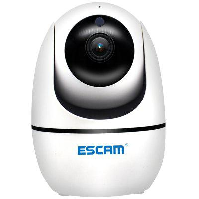 ESCAM PVR008 H.265 Auto Tracking PTZ Pan / Tilt 2MP HD 1080P Wireless Two-way Talk Night Vision Network IP Camera