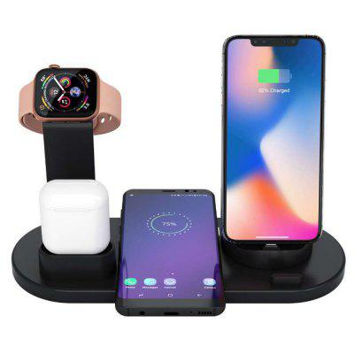 Multi-function 3-in-1 Bracket Charging Stand Watch Mobile Phone Headset Charger