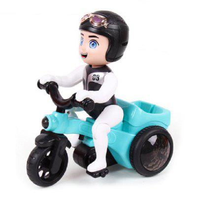 Stunt Tricycle Motorcycle Electric Music Toys