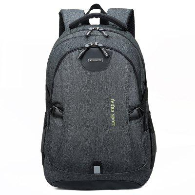 Gepersonaliseerde Office Backpack Externe USB-poort opladen Simple Easy-match Anti-diefstal tas