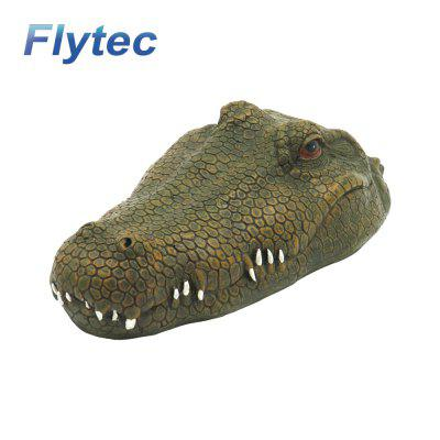 Flytec V002 2.4G 4CH Simulation RC Boat Crocodile Model Animal Toy