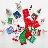 Christmas Gift Box Kerst Cotton Thicken Warm Holiday sokken 5 paar - MULTI-A