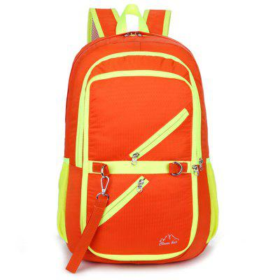 Outdoor Collapsible Travel Backpack Mountaineering Bags Convenient Fashion Waterproof Sports Pack