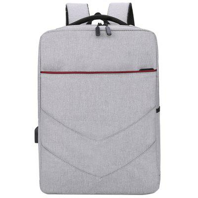 Business Backpack with USB Charge Port Computer Bag Large Capacity