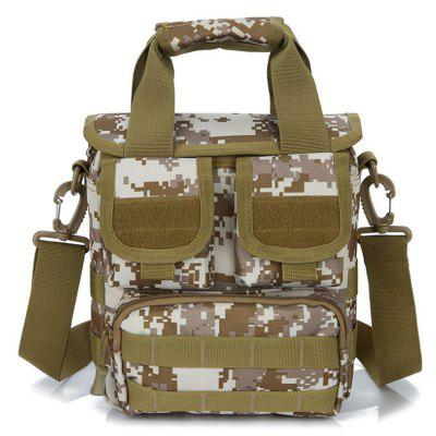 Mannen Handtas Korean Style Schouder Crossbody Bag Outdoor Casual Camouflage Bag