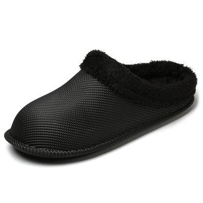 Men's Home Furry Slippers Warm Minimalistisch Huis Schoenen