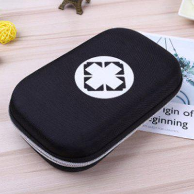 Men's Outdoor Portable EVA Emergency Storage Bag Car Home Medicine Box