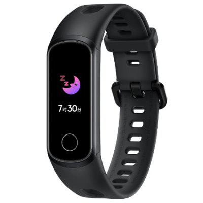 HUAWEI Banda de Honor 5i 0,96 pulgadas inteligente Pulsera Bluetooth 5ATM impermeable de los deportes SmartWatch enchufe USB-International Edition
