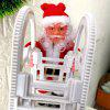 Electric Ladder Santa Claus Christmas Party Decoration Music Toy ( without Battery ) - RUBY RED