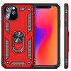 Holder Pierścień Armor Shell Phone Case for iPhone 11/11 Pro iPhone / iPhone 11 Pro Max - CZARNY