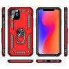 Armor Ring Holder Shell Phone Case for iPhone 11 / iPhone 11 Pro / iPhone 11 Pro Max - BLACK