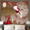 3D Digital Printing Creative Home Decoration Art Wall Background Cloth Tapestry - TAN