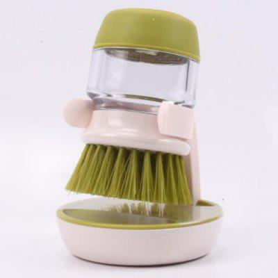 Kuchyň Non-Stick Oil dekontaminační Wash Pot Brush Automatický Liquid Brush Pot artefakt Cup Brush tlakem mytí