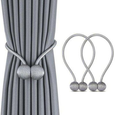 Curtain Buckle Strap Bundle Curtain Ring Bedroom Tied Rope Belt 3pcs