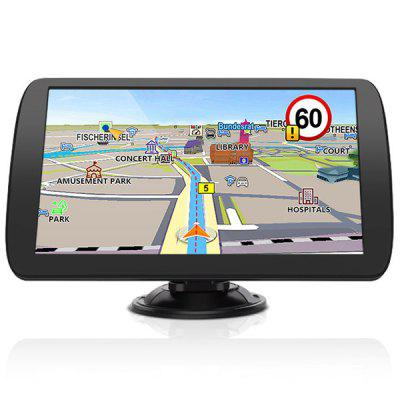 Junsun A9 9 palcový TFT LCD displej GPS Navigator HD monitor do auta Reverse Rear View Backup Camera / DVD