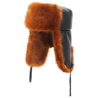 Man Plus Velvet Warm Bomber Hat winddicht Dik Furry Cap