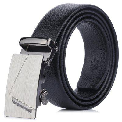 Men's Business  Scratchproof Belt Concise Drawing Processes Buckle Waistband