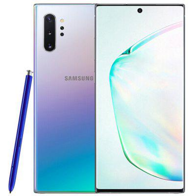 Samsung Galaxy Note10+ 4G Smartphone 6.8 inch Android 9.0 Qualcomm Snapdragon 855 Octa Core 12GB RAM 256GB ROM 4 Rear Camera 4300mAh Battery Global Version