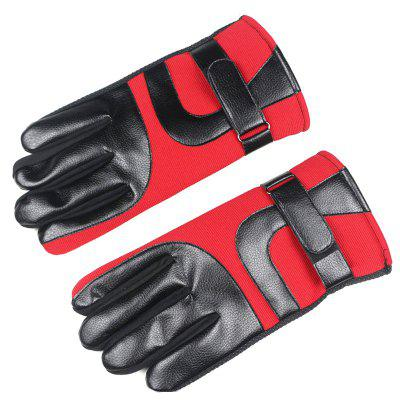 Men Cycling Winter Touch Screen Gloves Thick Warm
