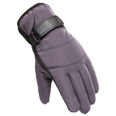 Men's Winter Skiing Warm Gloves Outdoor Sports Windproof Cycling Touch Screen Glove