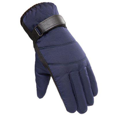 Men's Winter Skiën warme handschoenen Outdoor Sports winddicht Fietsen Touch Screen Handschoen
