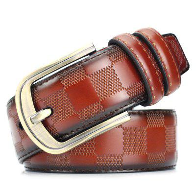 Casual Retro In reliëf Belt Easy-match Pin Buckle Waistband
