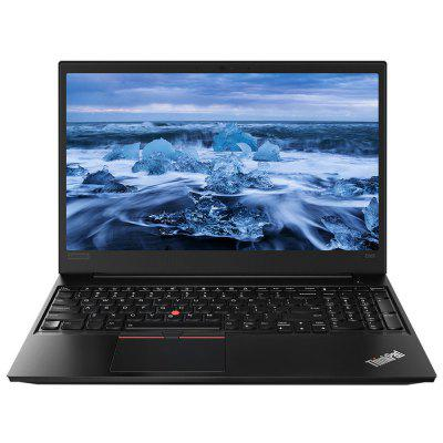 Lenovo ThinkPad E585 15,6 polegadas Notebook Windows 10 Pro AMD Ryzen 7 2700U CPU 8GB DDR4 RAM + SSD de 256GB Radeon RX Vega 10 gráficos Laptop global Versão