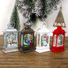 Christmas Decoration Ornament Painted Retro Small Light - SILVER