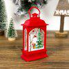 Christmas Decoration Ornament Painted Retro Small Light - RED