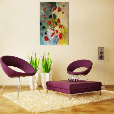 Abstract Flower Pattern Hand-painted Oil Painting