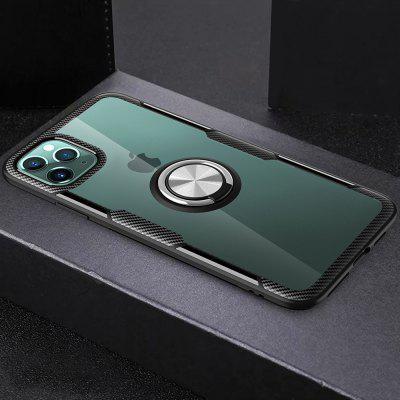 Transparant Shell Ring Holder Armor Populaire Phone Case voor iPhone 11 Pro Max