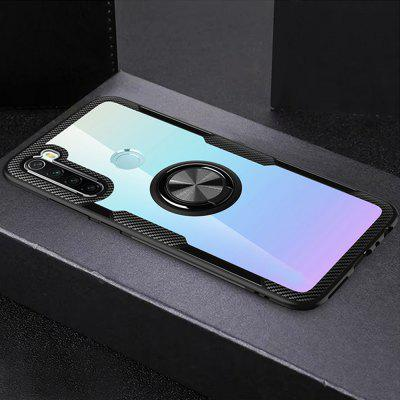 Transparent Ring Holder Shell Phone Case for Xiaomi Redmi Note 8