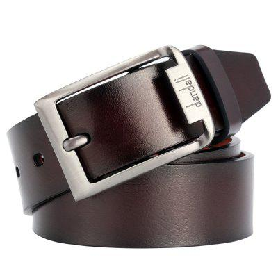 Men's Retro Pin Buckle Belt Casual Leather Waistband
