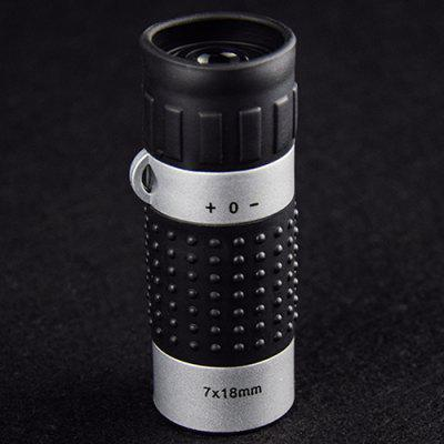 7X18 Golf Distance Measurement Monocular Telescope