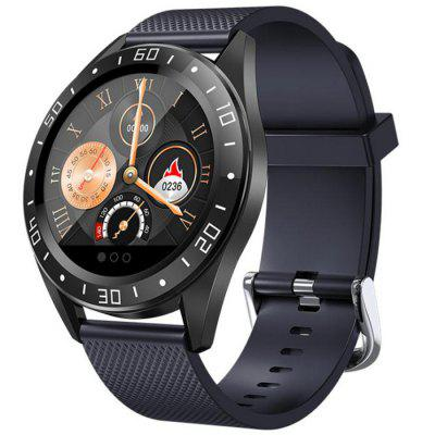 GT105 1.22 inch Fashion UI Heart Rate Blood Pressure Monitor Weather Forcast Smart Watch