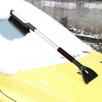 Car Snow Removal Shovel Retractable Car Clear Frost Board Tool Sweeping Brush Snow Scraper Winter Supplies