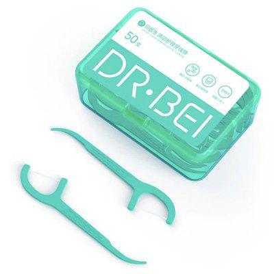 DR.BEI Cleaning Care Dental Floss 50pcs / Box van Xiaomi youpin