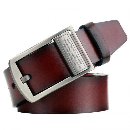 Fashion Men Casual Retro Leather Vintage Classic Jean Pin Buckle Belts