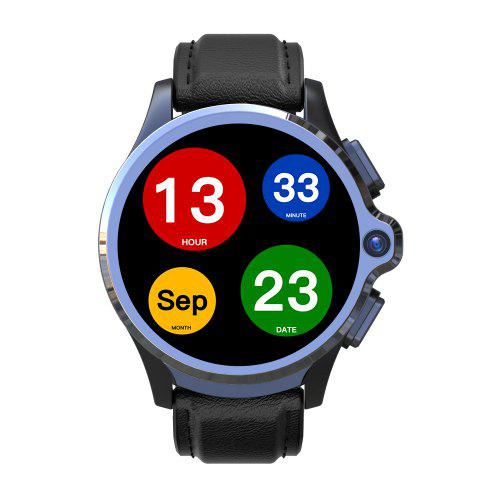KOSPET Prime 4G Smart Watch Phone 3GB RAM 32GB ROM 1.6 inch IPS Screen Healthcare Sports Android Smartwatch with Dual Cameras 1260mAh Battery Face ID Unlock for Men
