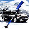 Car Snow Removal Shovel Retractable Car Clear Frost Board Tool Sweeping Brush Snow Scraper Winter Supplies - DODGER BLUE