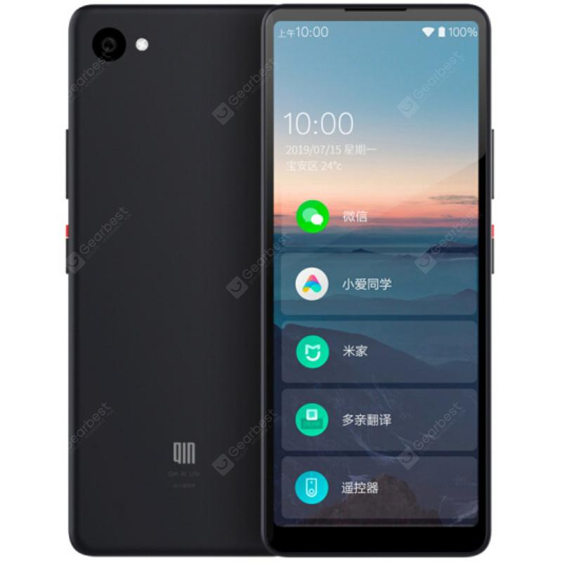 QIN 2 4G Smartphone 5.05 inch Android 9.0 SC9832E Quad Core 1GB RAM 32GB ROM 5.0MP Rear Camera 2100mAh Battery from Xiaomi youpin