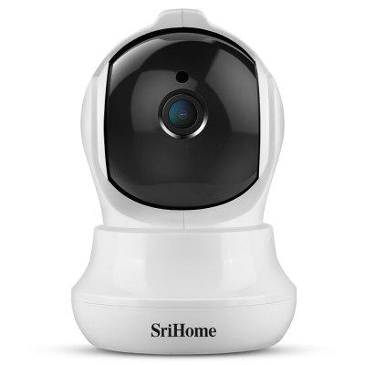 SriHome SH020 3MP 1296P WiFi PTZ Network IP Camera Motion Tracking Night Vision Two-way Audio Home Security System